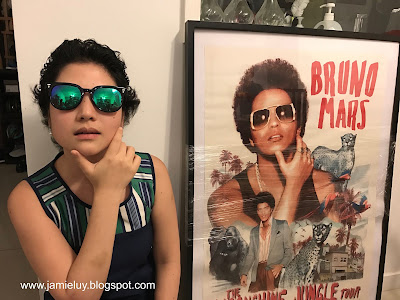 Bruno Mars Poster and Hairstyle