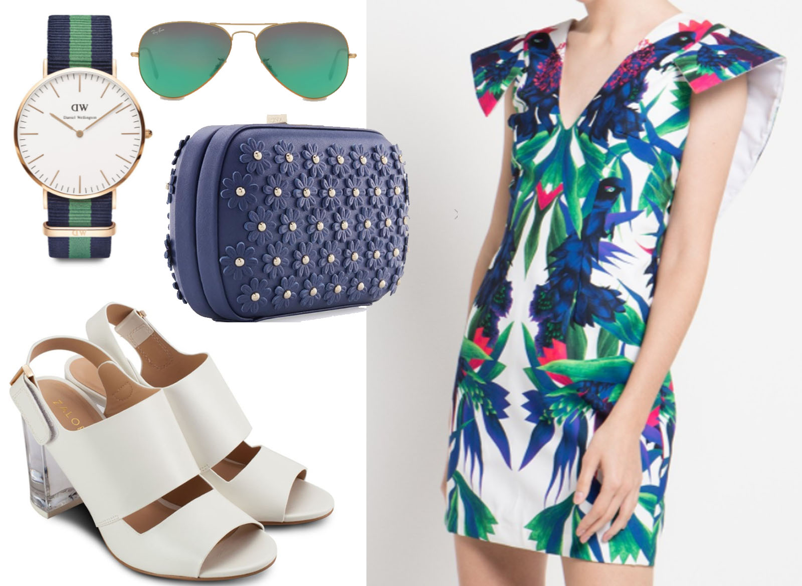 summer fashion look inspiration ootd zalora