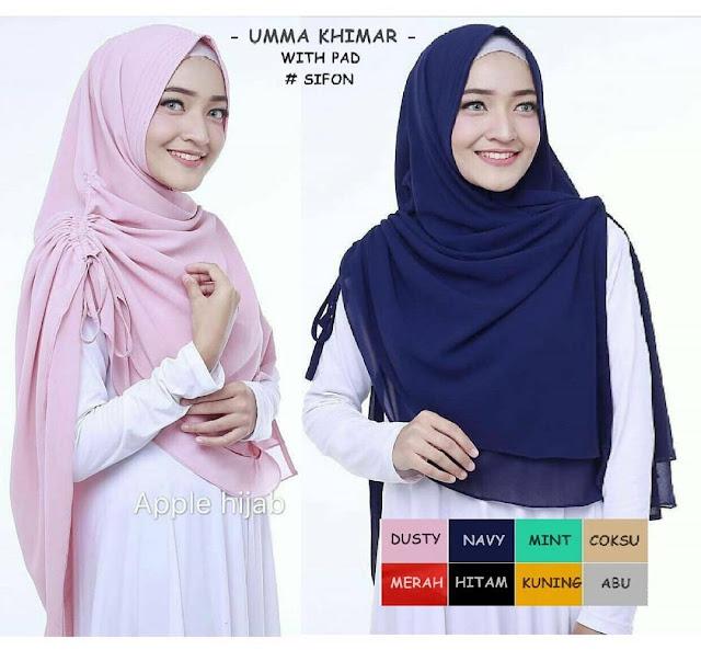 model jilbab syar'i