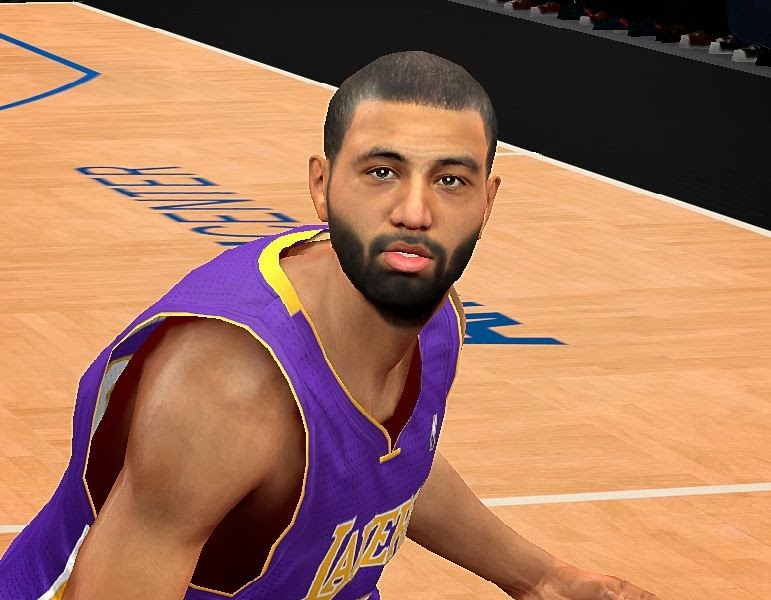 NBA 2K14 Kendall Marshall Cyberface Patch