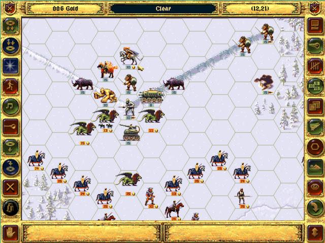 Pale Marshal | Fantasy General Screenshot