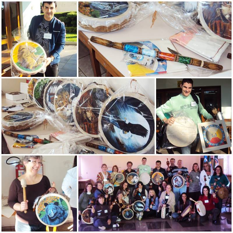 Artesãos Ou Artesaos ~ Wakan Wood Artesanato Xam u00e2nico Julho 2010