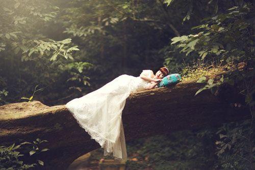 Ảnh cưới trong rừng lãng mạn đến ngộp thở
