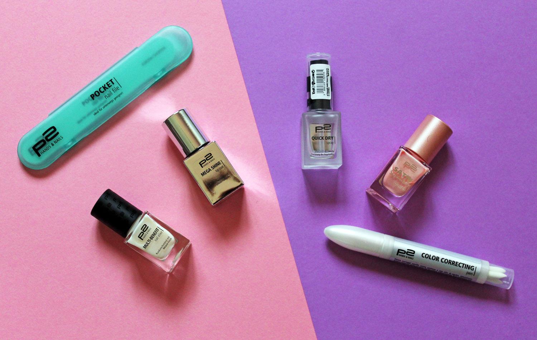 smalti prodotti manicure p2 cosmetics