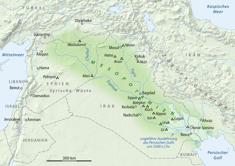 Babylon Karte.H I S T O R Y Geography Of Mesopotamia