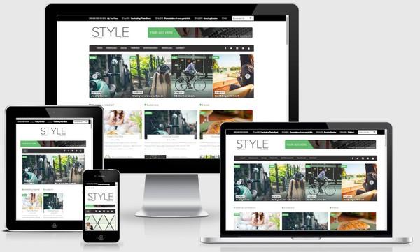 Style Magazine Responsive Blogger Templates