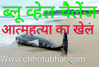 what is blue whale game. in hindi blue whale