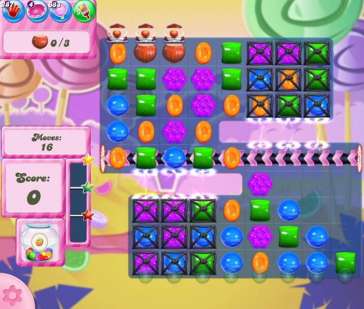 Candy Crush Saga level 2756
