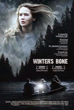 Affiche du film Winter's Bone, de Debra Granik (2013) avec Jennifer Lawrence