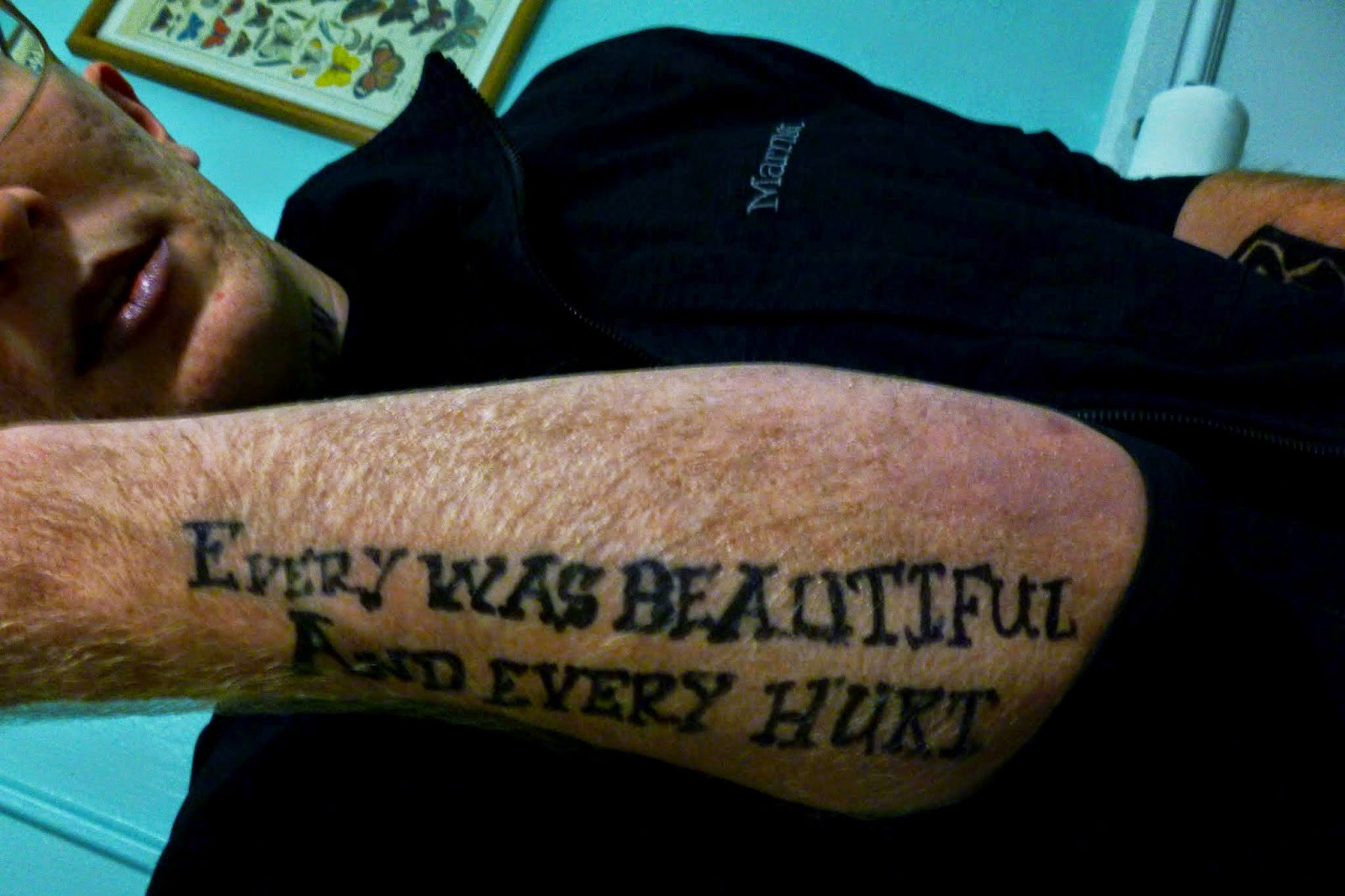 Everything Was Beautiful And Nothing Hurt Tattoo 50229 Loadtve