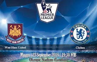 Prediksi West Ham United vs Chelsea 23 September 2018
