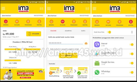 Cara Cek Kuota Indosat Menggunakan Aplikasi Mobile