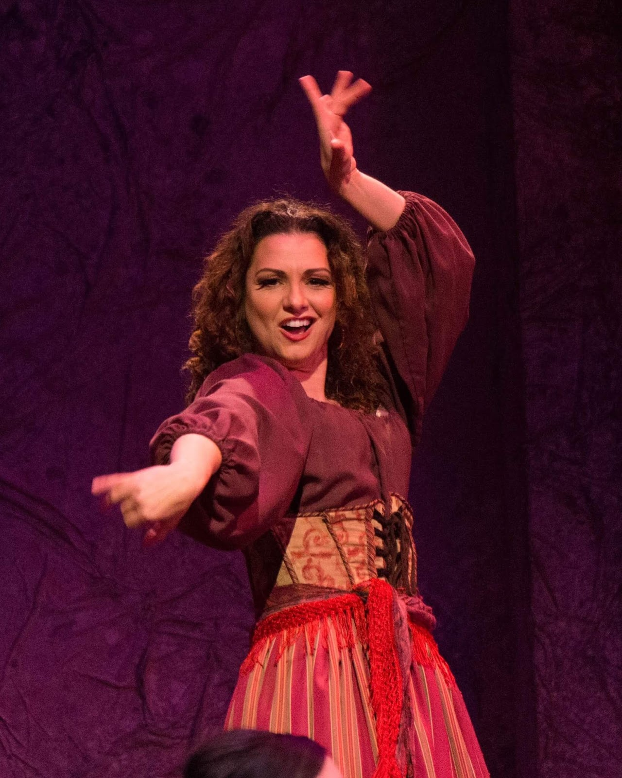 IN PERFORMANCE: Mezzo-soprano SANDRA PIQUES EDDY as the title heroine in Greensboro Opera's production of Georges Bizet's CARMEN, January 2017 [Photo © by Greensboro Opera]