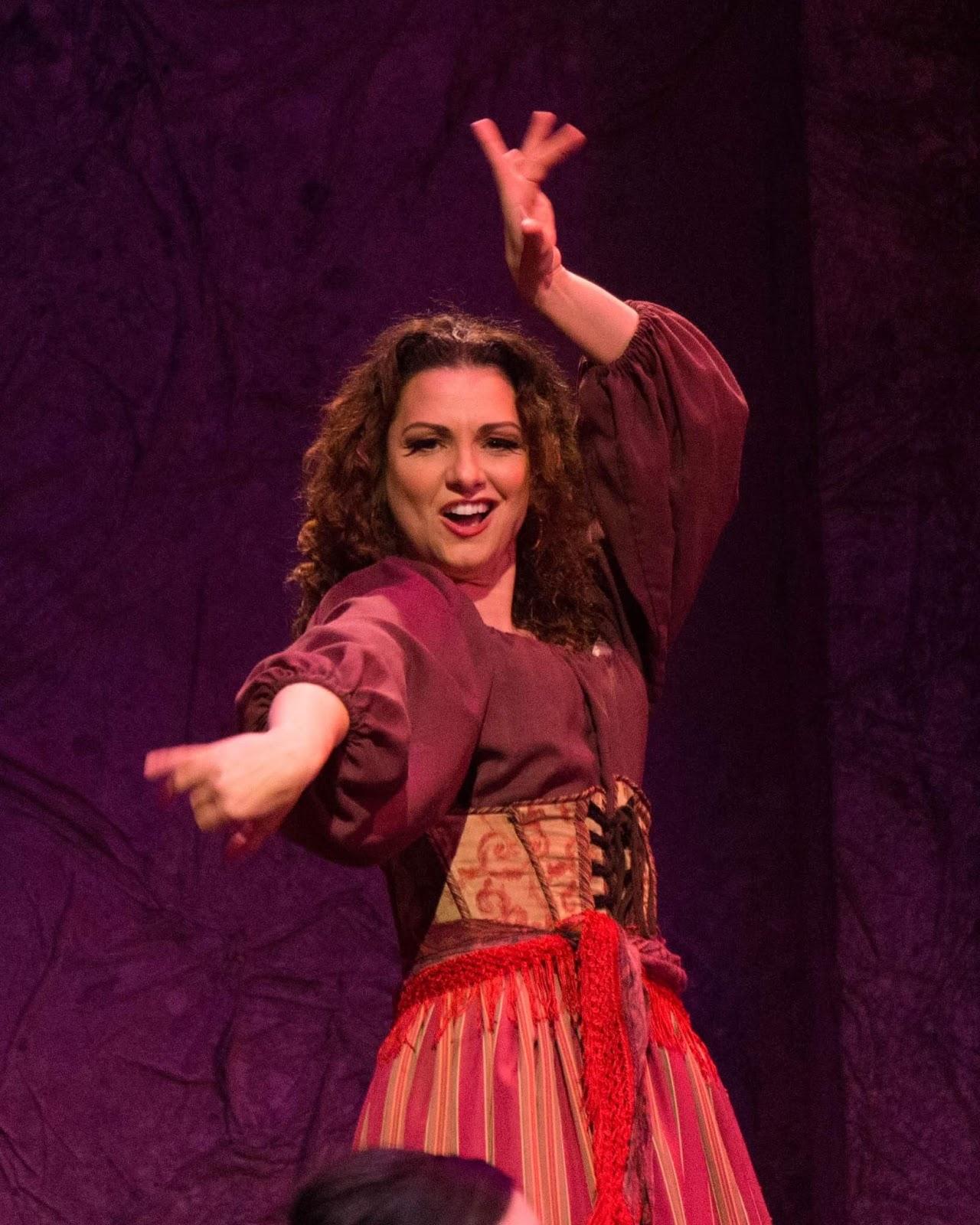 IN PERFORMANCE: Mezzo-soprano SANDRA PIQUES EDDY as the title heroine in Greensboro Opera's production of Georges Bizet's CARMEN, January 2017 [Photo © by Greensboro Opera]