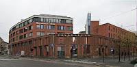 OsloMet hovedinngang - Lisens: fri bruk, Wikimedia