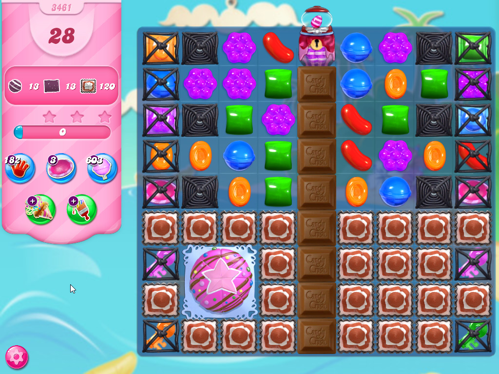 Candy Crush Saga level 3461