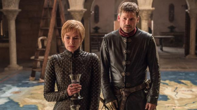 Cersei with Jamie Lannister, Game of Thrones, Season 7, Episode 1