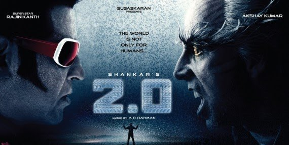 2.0 Hindi full HD movie leaked online; free download likely to affect box office collection