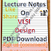 Lecture Notes on VLSI Design PDF Download