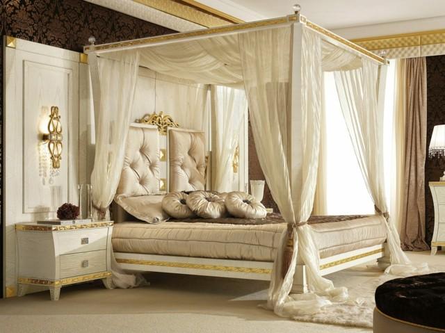 decoracin romntica camas con dosel