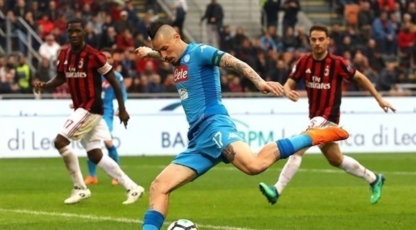 نابولي يعاود نزيف النقاط بتعادله مع ميلان في الدوري الإيطالي