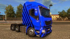 Blue Skin for Iveco Hi Way