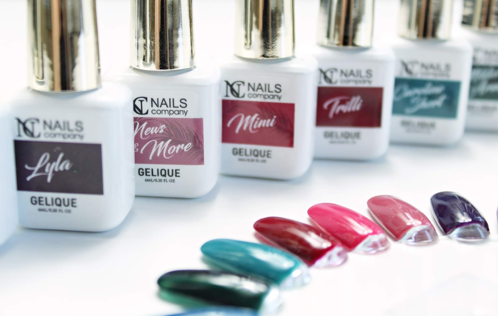 NOWOŚĆ! Kolekcja lakierów hybrydowych NC Nails Company - SUCCESS TIME