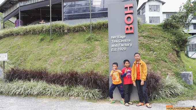 Destinasi Cuti di Cameron Highlands - Boh Tea Heritage Centre Factory