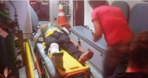 Motociclista fica gravemente ferido após colidir com uma carroça de burro sem sinalização na AL 140 em Inhapi