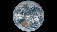Earth seen by Himawari-8 Satellite