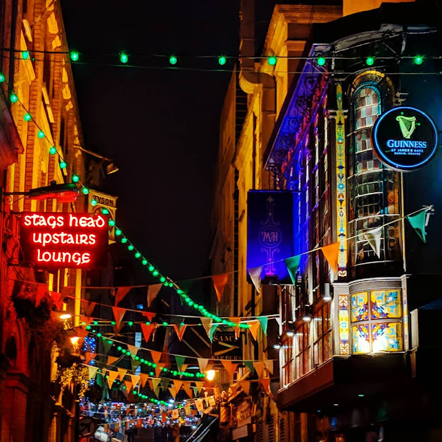 Dublin in one day itinerary: Dame Lane