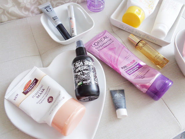 Products empties July 2016