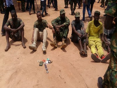 Nabbed Soldier: I deserted Army because I was owed 9-month salary
