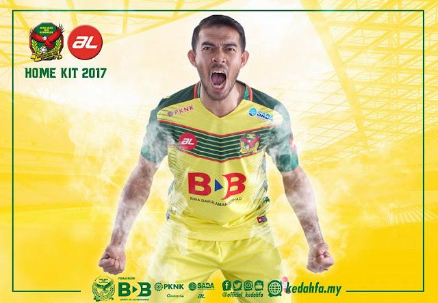 Jersi Kedah 2017 Home AL Sports by Khairul Helmi Johari