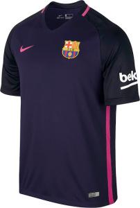 El Nueva Camiseta Barcelona 2016 2017 la combinación de color morado con  azul y rosa 9c65437535b2a