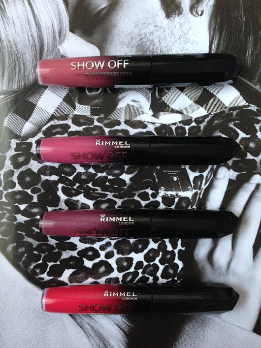 Rimmel Show Off Lip Lacquer Review + Swatches (Celestial, Nova, Galaxy, Stellar)
