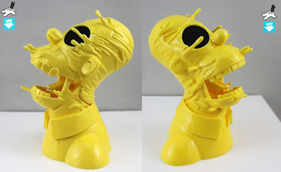 """Deconstructed Homer"" Pittsburgh Edition The Simpsons Fine Art Sculpture by Matt Gondek x Silent Stage Gallery"