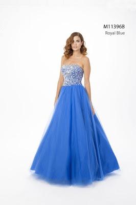 modelos de Vestidos de 15 Años Azules