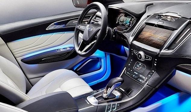 2016 Ford Edge Anium Interior