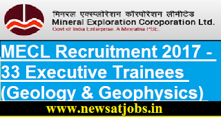 MECL-33-Executive-Trainees-Geology-Geophysics-Vacancies