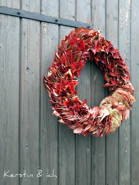 Selbermachen, Herbstkranz
