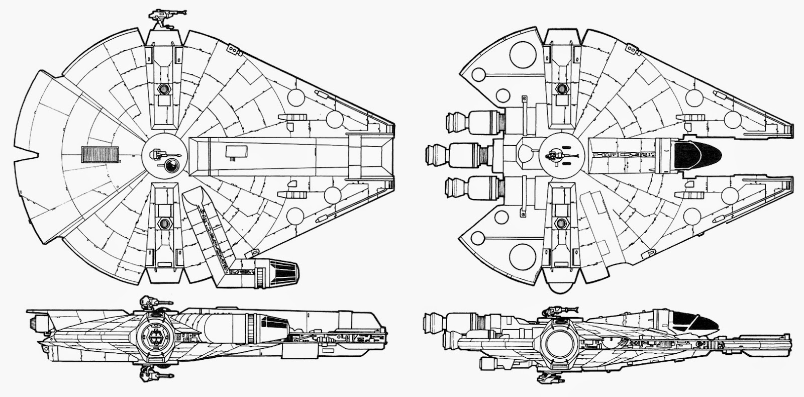Star Wars Models Personal Project