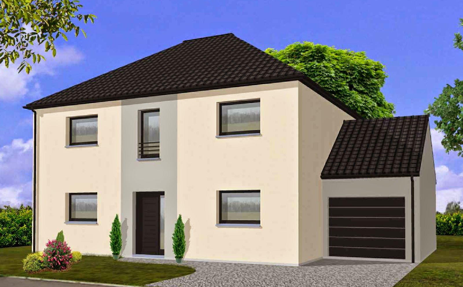 maison familiale lille auby etage r 1 148 m. Black Bedroom Furniture Sets. Home Design Ideas