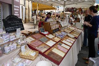 Mercado de Nyons.