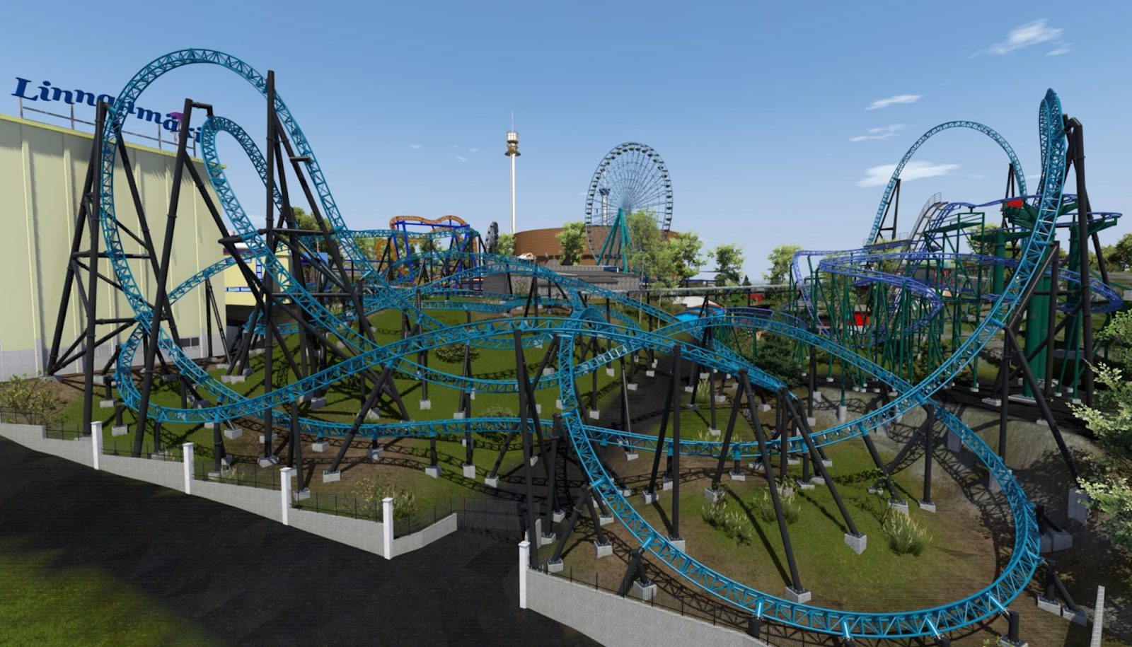 Newsplusnotes Massive Intamin Launched Coaster Announced For