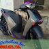 Mẫu Sơn xe Honda Sh Việt màu xám tím đen nhám [SHVN_SG2002]