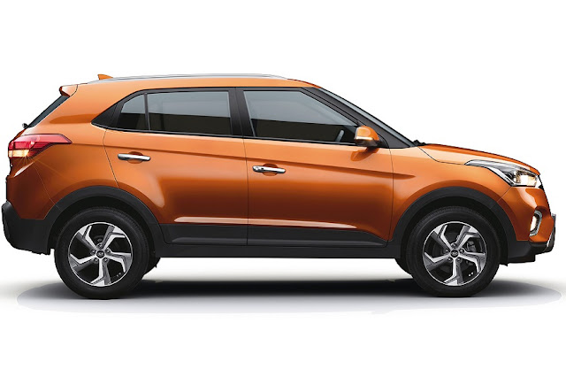 New 2018 Hyundai Creta Facelift side view image HD