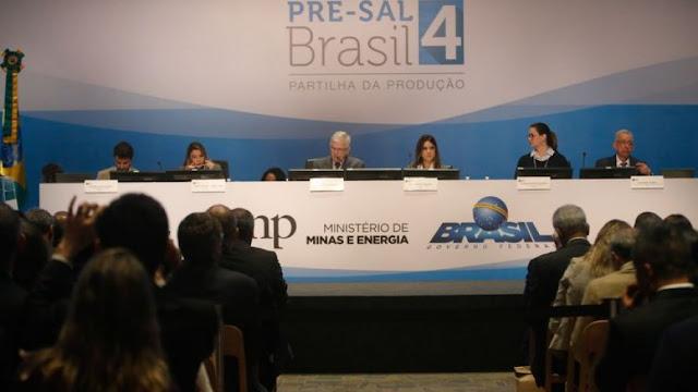 Leilão de quatro áreas do pré-sal pode arrecadar R$ 6,82 bi em bônus