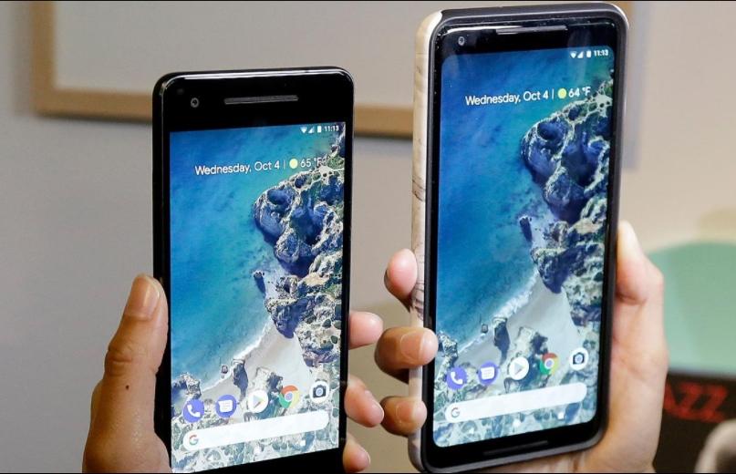 Samsung said sarcastically Google Display Pixel 2 XL?