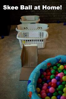 Skee Ball at Home